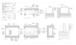 Piano di dettaglio: Bagno padronale Progetto Cuvée de Studio Architettura
