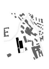 Schwarzplan Erweiterung Mitte Schulthess Klinik Zürich von Grüter Strässle Architekten