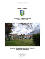 Relazione tecnica di progetto Progetto Cuvée de Studio Architettura