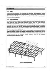 Konstuktionslayout 3-D Autoverkaufsplatz; Hagelschutz-Dach  von Hans Marti Bauplanungen