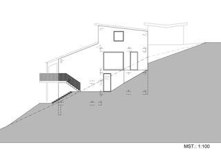 Ostansicht EFH Jäggi von Binder Architektur AG SIA