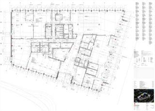 Grundriss Erdgeschoss Limmat Building von Itten+Brechbühl AG