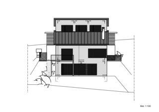 Südfassade EFH Lütolf von Binder Architektur AG SIA