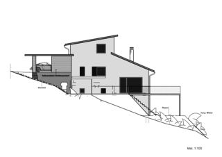 Westfassade EFH Lütolf von Binder Architektur AG SIA