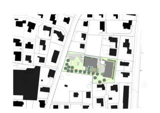 Situation MFH K 46 und 48 von Albertin Partner Architekten
