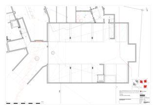 Grundriss Garage Haus ABC 5 Zweifamilienhäuser Rütihalde, Uznach (SG) von Creativ-Planbau AG