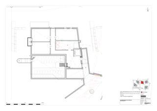 Haus C Grundrisse UG, EG, OG, Dachaufsicht 5 Zweifamilienhäuser Rütihalde, Uznach (SG) von Creativ-Planbau AG