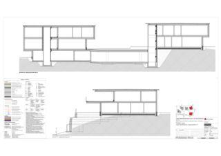 Haus A+B Schnitte OO-TT 5 Zweifamilienhäuser Rütihalde, Uznach (SG) von Creativ-Planbau AG