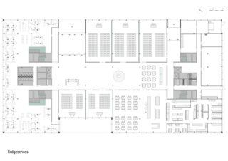 Erdgeschoss Businesspark Bison von Leuenberger Architekten AG
