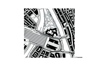 Situation Erweiterung Landesmuseum von Architekten ETH/SIA/BSA<br/>