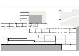 Grundriss (Ausschnitt) SwissFEL Grossforschungsanlage von Itten+Brechbühl AG