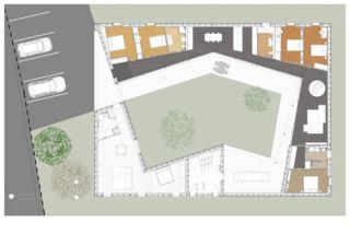Grundriss Villa individuelle von Architectes EPFL/SIA<br/>