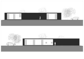 Façades Villa individuelle de Architectes EPFL/SIA<br/>