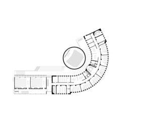 Grundriss EG ZHAW Winterthur, Umbau Bibliothek von Architekten ETH/SIA<br/>