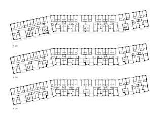 Obergeschosse Studentisches Wohnen Aspholz Süd von Darlington Meier Architekten AG