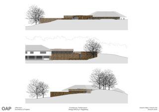 Ansichten Textilmuseum Abegg-Stiftung von OAP Offermann Architektur & Projekte