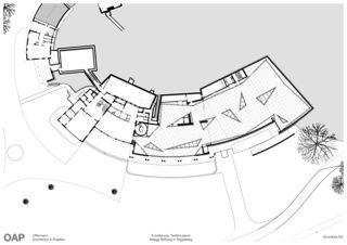 Erdgeschoss Textilmuseum Abegg-Stiftung von OAP Offermann Architektur & Projekte