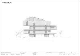 Façade nord EMPA NEST de Gramazio & Kohler GmbH