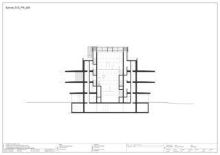 Schnitt D-D EMPA NEST von Gramazio & Kohler GmbH