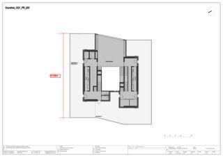 Grundriss 1. OG Mass EMPA NEST von Gramazio & Kohler GmbH