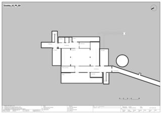 Plan du 1er soussol EMPA NEST de Gramazio & Kohler GmbH