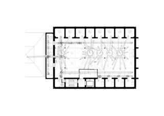 Plan 9e étage Kornhaus Swissmill  de Harder Haas Partner AG