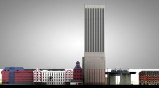 Fassade Sihlquai Kornhaus Swissmill  von Harder Haas Partner AG