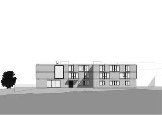 Ansicht West Altersheim Rosenhügel von blgp architekten ag