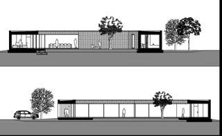 Schnitte Villa individuelle von Architectes EPFL/SIA<br/>