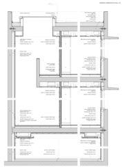 detail coupe Banca Raiffeisen della Campagnadorna a Stabio de Studio di architettura<br/>