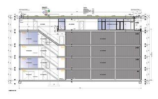 Detailschnitt 1:50 Halle 7 von Wyss Architektur + Bauleitung GmbH