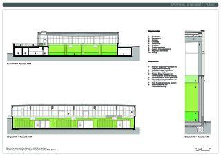 Schnitte Sporthalle Neumatt von Evolution Design AG