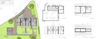 Situationsplan und Grundrisse Messikommer von SRT Architekten AG