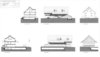 Schnitte und Ansichten Messikommer von SRT Architekten AG