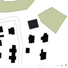 Umgebungsplan Ausbau Einfamilienhaus in Zweifamilienhaus von RUDAZ ARCHITEKTEN GmbH