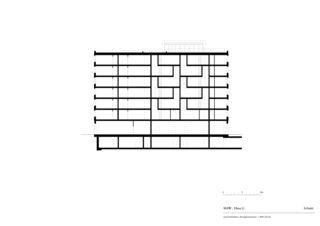 Schnitt Haus G «Mehr als Wohnen» von pool Architekten