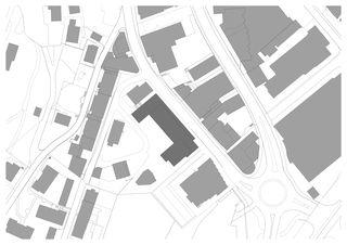 Situation Wohnüberbauung und Seniorenwohnungen Chalavus von Pablo Horváth Architekt SIA/SWB