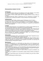 Projektbeschrieb Überbauung Brünnen, Baufelder 16-18 von bauzeit architekten GmbH