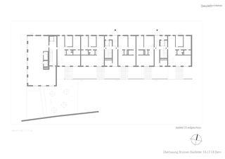Grundriss EG Baufeld 16 Überbauung Brünnen, Baufelder 16-18 von bauzeit architekten GmbH