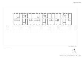 Grundriss EG Baufeld 17 Überbauung Brünnen, Baufelder 16-18 von bauzeit architekten GmbH