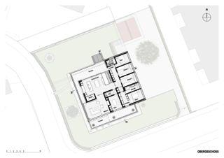 Obergeschoss Haus in Willisau de BAUREAG Architekten AG
