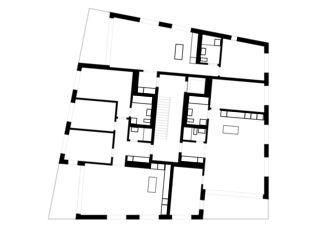 Obergeschoss Wohnpark Sonnenring von Bischof Partner Architektur AG