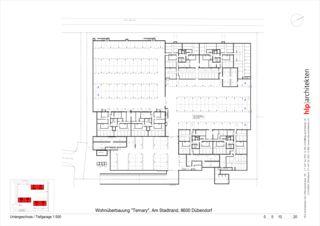Untergeschoss Ternary von Bauleitung, Projektmanagement<br/>