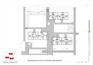 Rez-de-chaussée Ternary de Bauleitung, Projektmanagement<br/>
