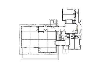 Plan salles de séminaire Hostellerie Schwarzsee, Neubau Esssaal mit Seminarräumen de Mäder + Luder Architekten AG