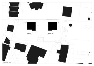 Situation zwei häuser für zwei brüder von Architekt ETH/SIA<br/>