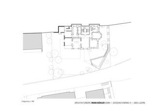 Erdgeschoss Stadtvilla in Luzern von Architekturbüro Iwan Bühler GmbH