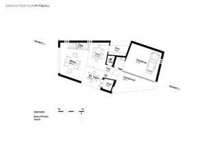 Erdgeschoss EFH Hasler de Architektur Pitbau