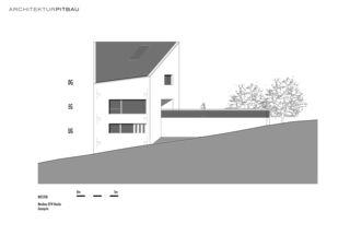 West Fassade EFH Hasler de Architektur Pitbau