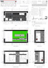 Douche / Piano Doccia Casa sospesa a Monte Carasso de Studio d'architettura Ernesto Bolliger